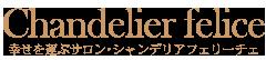 幸せを運ぶレッスンサロン・シャンデリアフェリーチェのホームページ